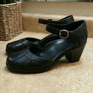 Dansko Bree Black Mary Jane Pump Shoe Size 7.5 8